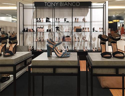 Tony Bianco Myer Melbourne