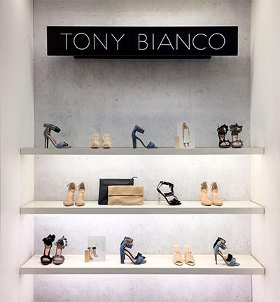 Tony Bianco Myer Adelaide
